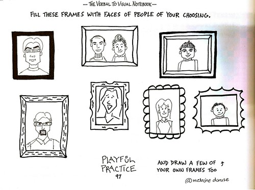 Faces in frames