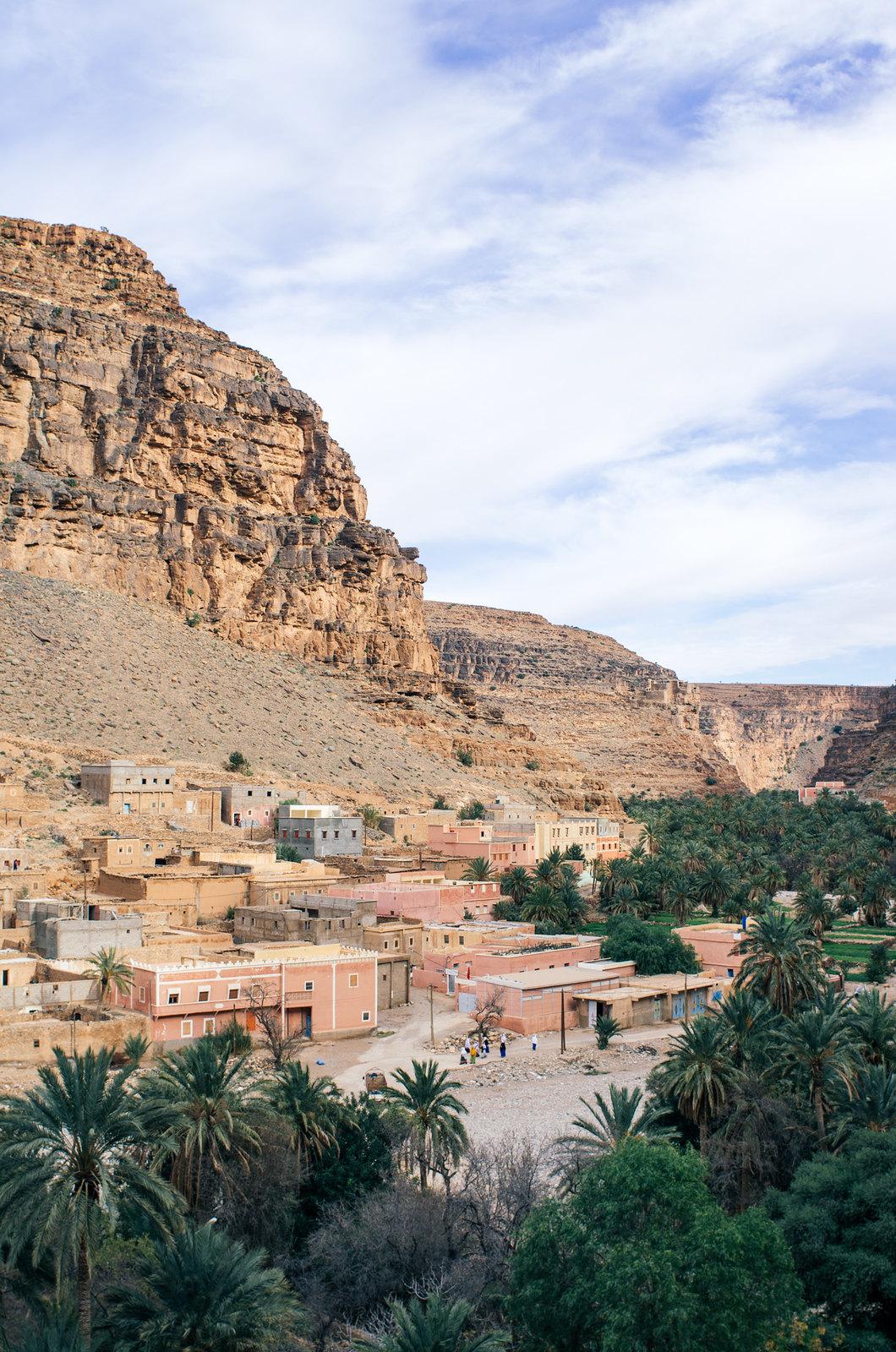 Amtoudi, anti-Atlas - 5 jours de trek au Maroc - L'oasis d'Id-Aïssa