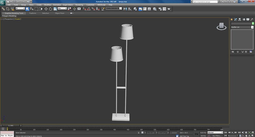 3d Lamps Work In Progress Screenshots