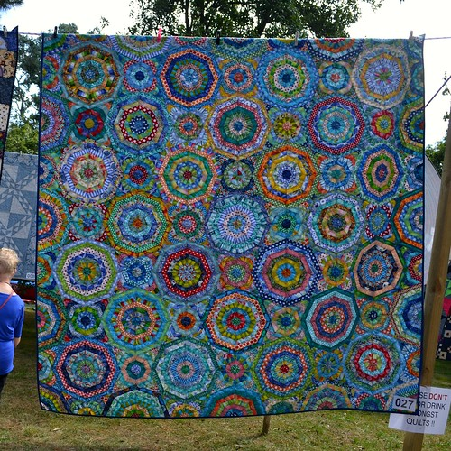 Kaleidoscope - Anne Cate (Quilted by Sue Burnett)