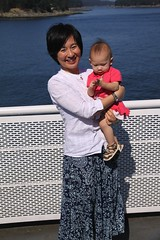 On The Ferry to Salt Spring Island