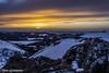 Sunset au Puy de la Tâche