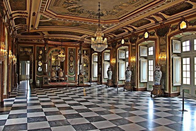 Palace of Queluz!