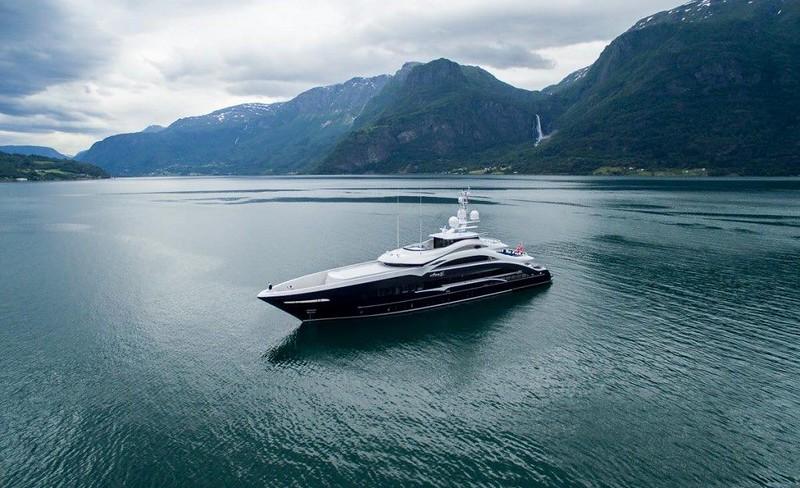 Новая яхта Ann G от Heesen
