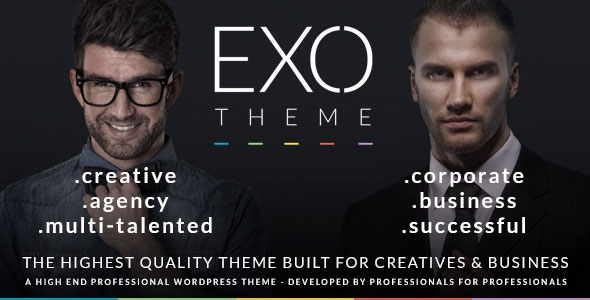 EXO v2.0.1 - Creative & Corporate Specific Purpose Theme