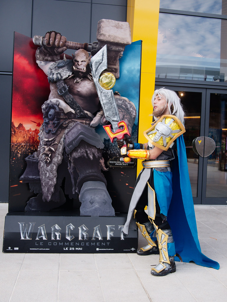 related image - Sortie Film Warcraft - Blizzard - L'Avenue 83 - La Valette du Var -2016-05-25- P1410034