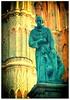 Statue of Franciscan friar Juan de San Miguel, founder of San Miguel de Allende, Mexico, 2016