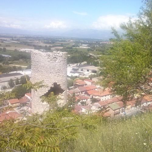 #Torre #panorama #Veneredei Marsi #case
