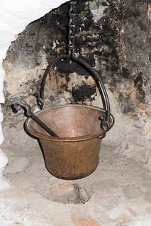 Medieval cooking pot