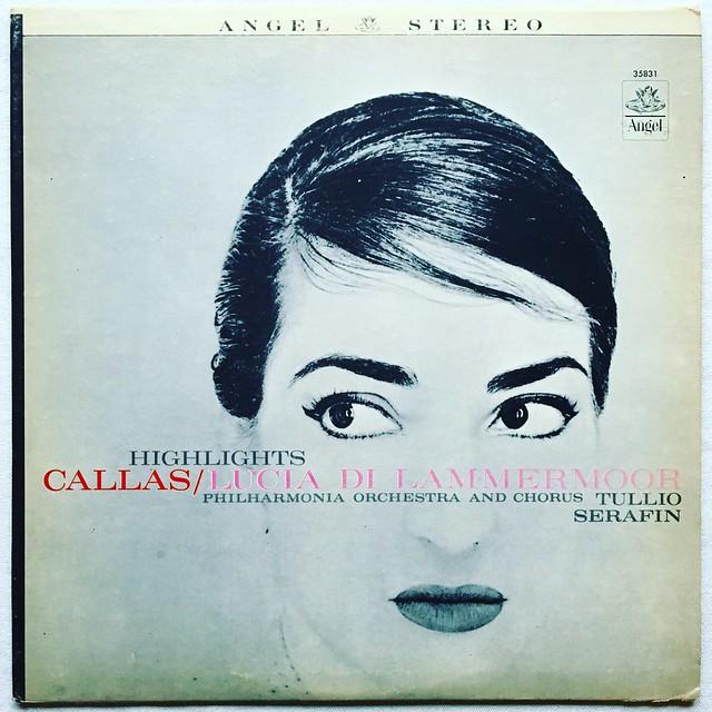 Maria Callas - 1960s Vintage Vinyl LP Record