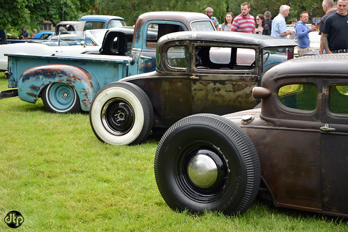rat rods rear view