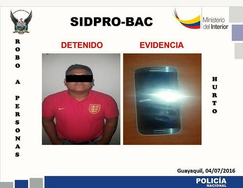 Policía Nacional contrarresta venta de objetos robados f6a1fedf583fe