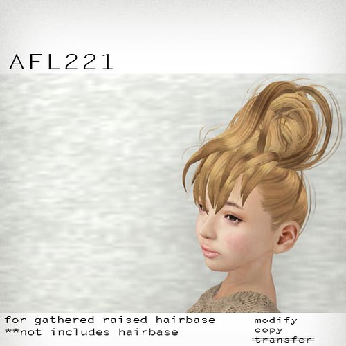booN AFL221 hair
