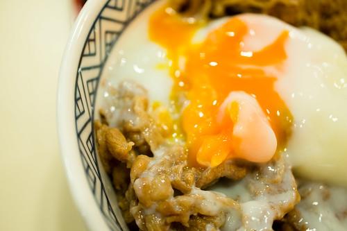 Beef donburi :: Yoshinoya