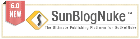sunblognuke v5 for dnn