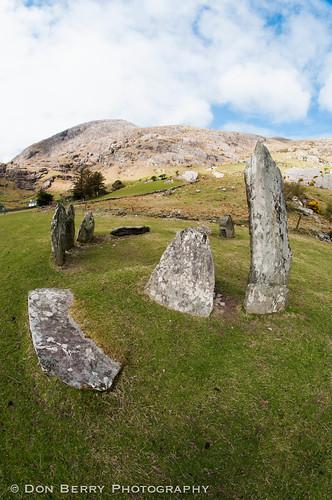 Shronebirren Stone Circle, Co. Kerry, Ireland