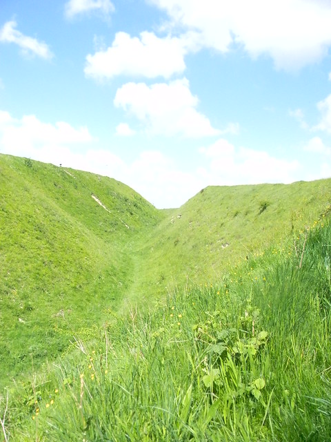 Old Sarum ramparts