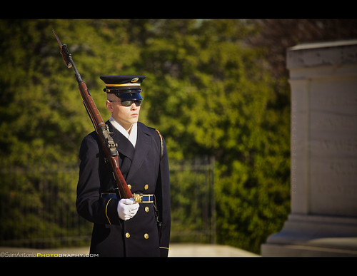 Changing of the Guard at Arlington National Cemetery - Washington, DC by Sam Antonio Photography