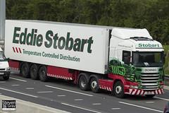 Scania R440 6x2 Tractor - PN11 XOH - Gaynor Isabella - Eddie Stobart - M1 J10 Luton - Steven Gray - IMG_8956