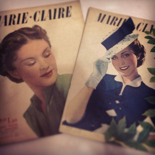 vintage french magazines