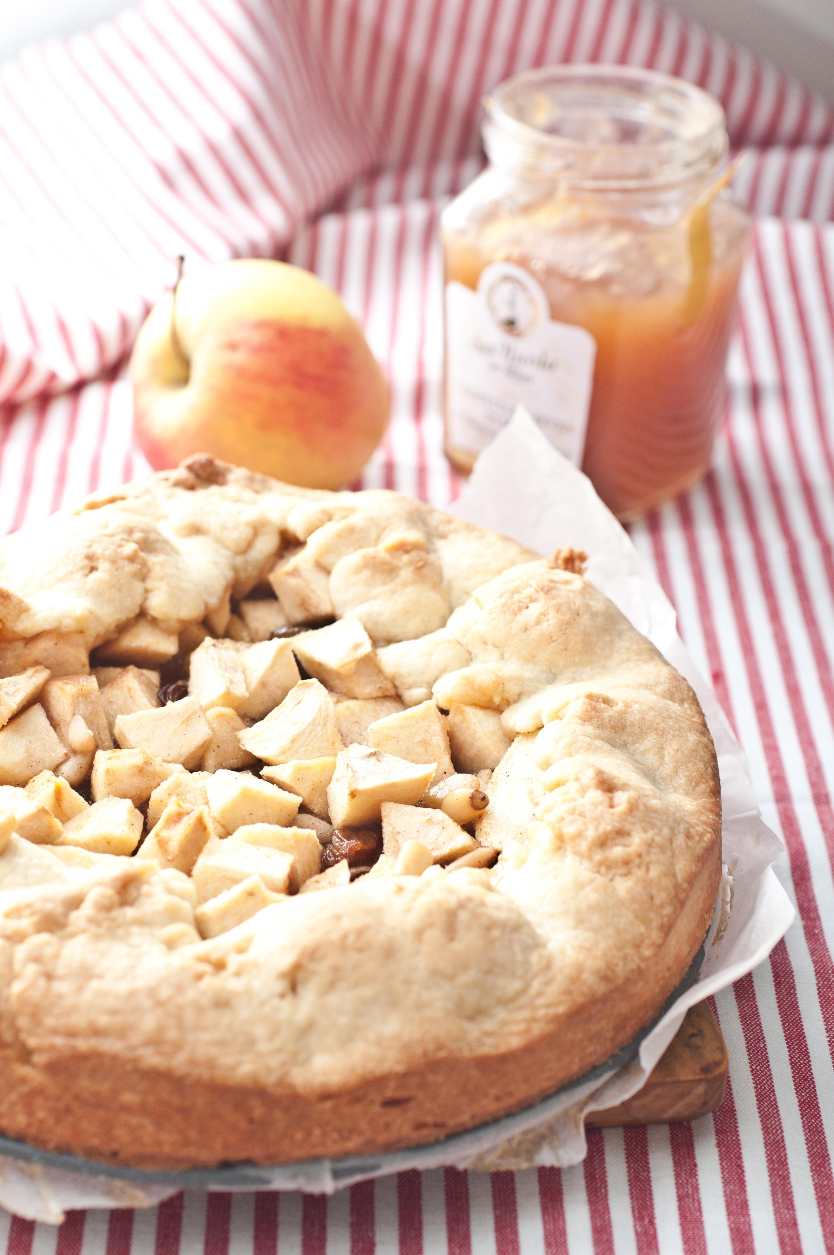 Strudel-galette di mele