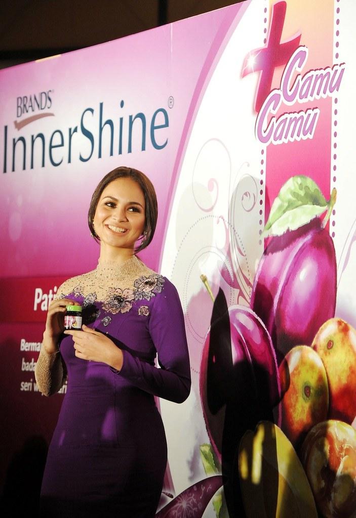 Izara Aishah At The Launch Of Innershine Prune Essence Plus Camu Camu