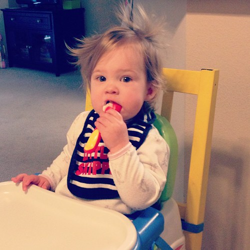 Cutest bed head west of the   Mississippi.