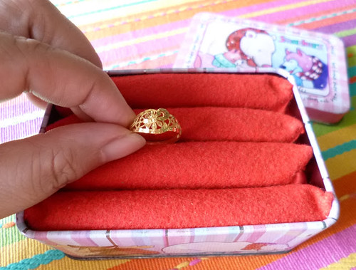 DIY ring box