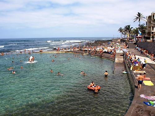 Summer in Punta de Hidalgo, Tenerife