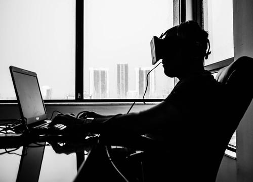Orlovsky and Oculus Rift