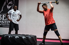 sport venue(0.0), sports(1.0), muscle(1.0), crossfit(1.0), physical fitness(1.0),
