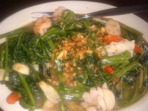 pattaya 2 Ca Kangkung Seafood @ Rp 18.500