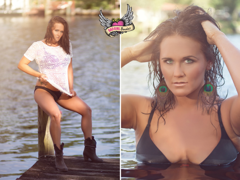River Water Wet Hair Country Boudoir