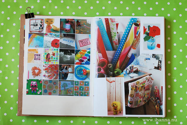 Glue Book: Creative Rooms Inspire me