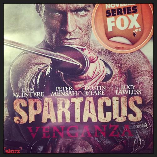 """La portada del regalo de hoy, una edición en BR de """"Spartacus: Venganza"""""""