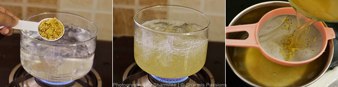 Ginger Tea Recipe - Step2