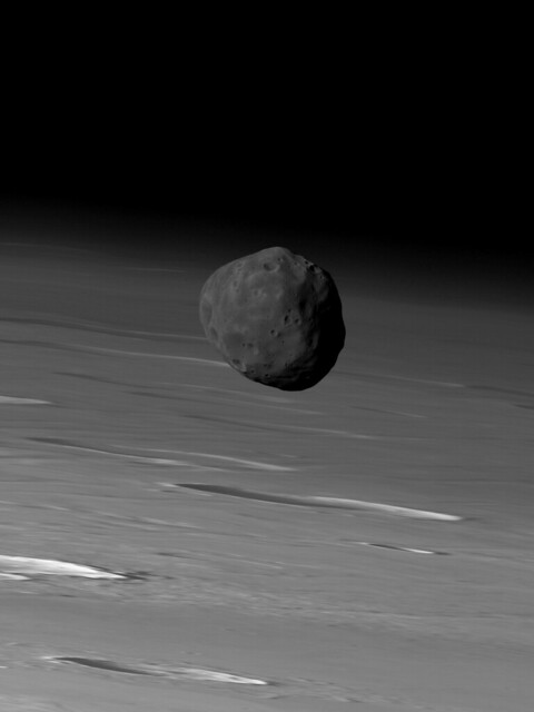 mars phobos from mars view - photo #6