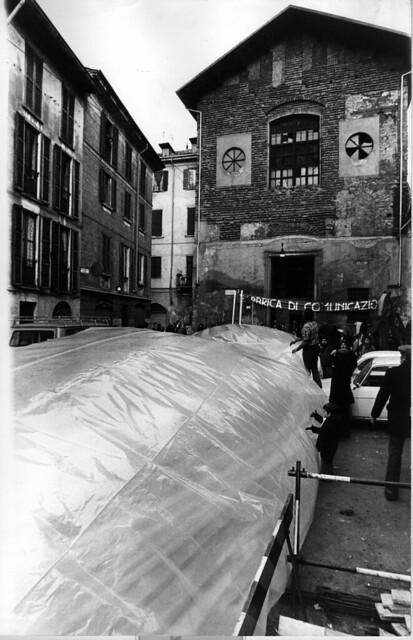 1976 Riappropriazione Chiesa di San Carpoforo Milano