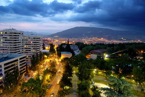 sunset atardecer luces nikon ciudad pamplona navarra sanfermin iruña d3100
