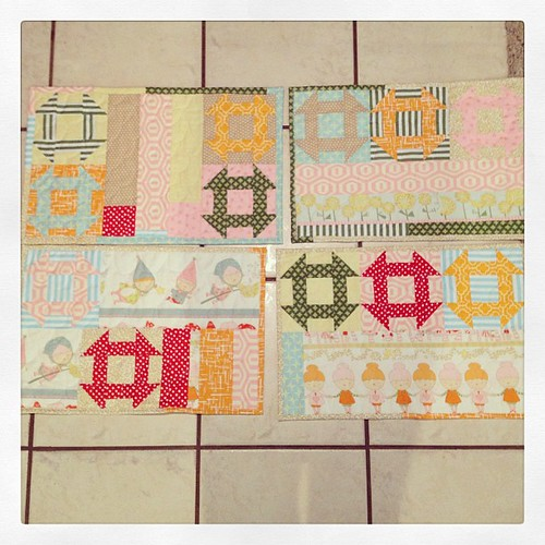 Four placemats for my daughter?  Done!