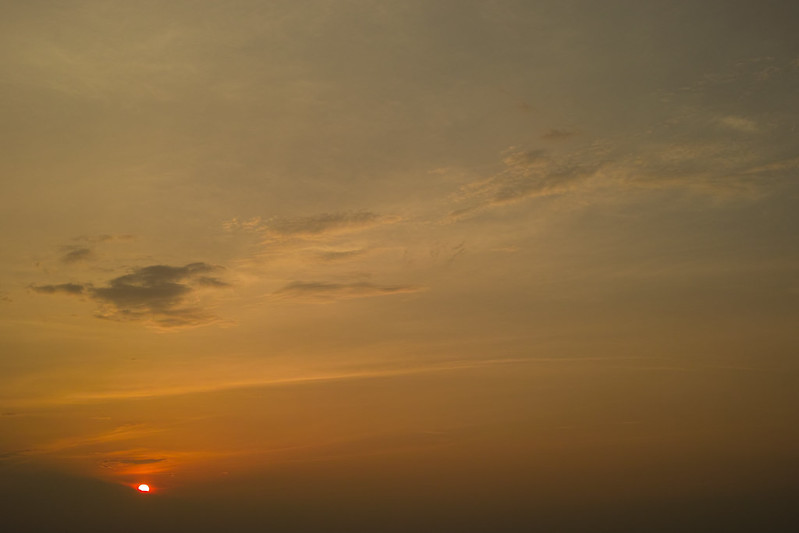 A Sunset / 夕焼け