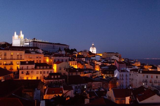 Lisbon Afalma night