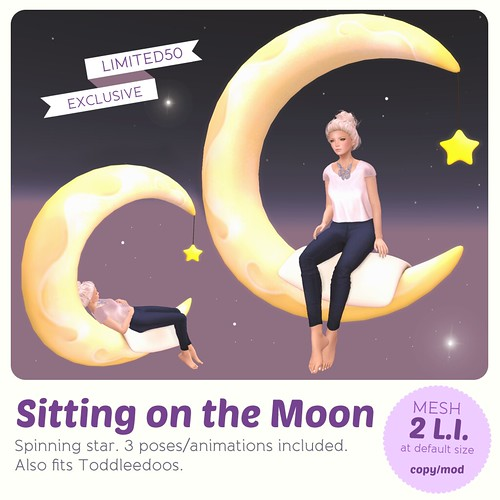 *MishMish* Sitting on the Moon