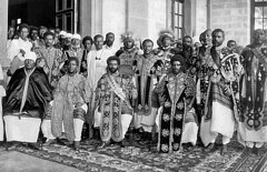 Ethiopian Royalty in the early 1900s