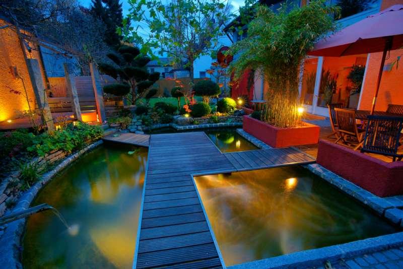 Un jardín como las mil y una noches
