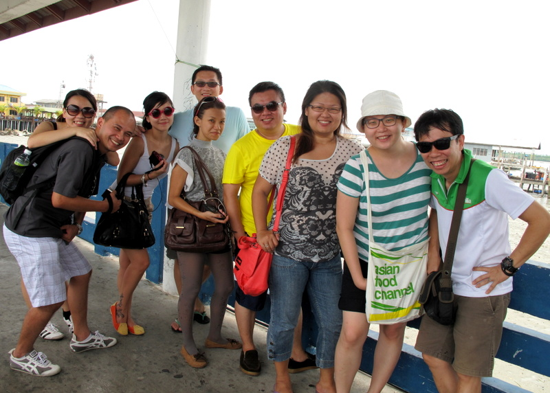 Pulau Ketam, Crab Island - friends