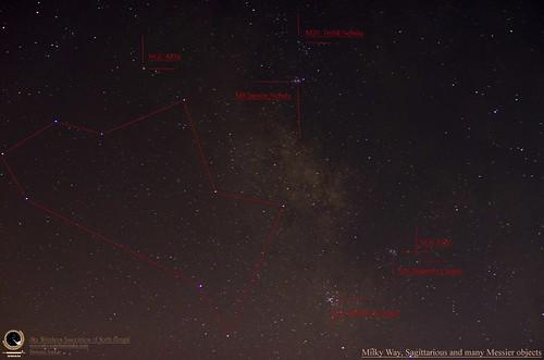 sky star swan science telescope nebula astrophotography astronomy celestial skywatching debasis sagittarious
