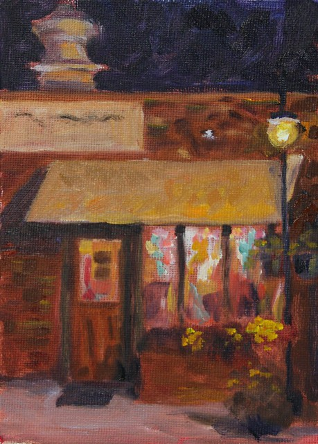Nocturne ~ Downtown Niwot