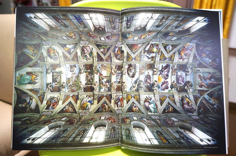 ミケランジェロ展図録システィーナ礼拝堂天井画