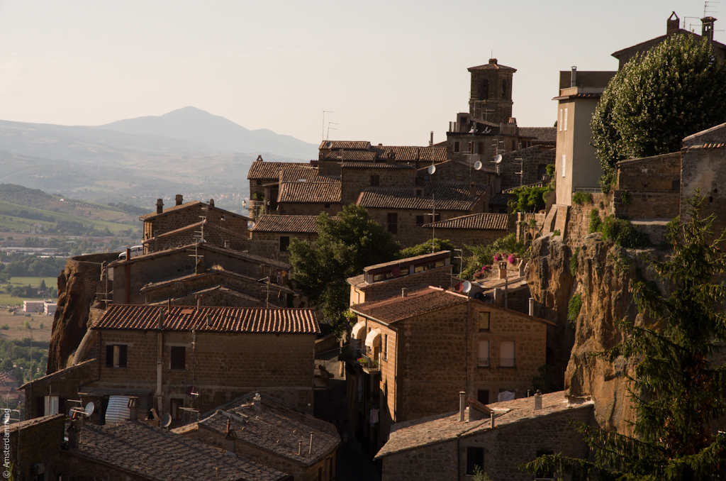 Italy, Roofs of Orvieto